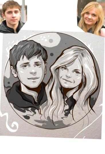 Заказать портрет на годовщину свадьбы в Донецке