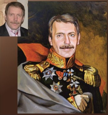Настоящий портрет маслом на заказ в Донецке…