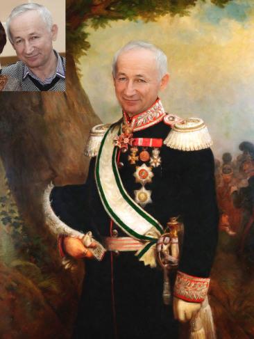 Где заказать исторический портрет по фото на холсте в Донецке?