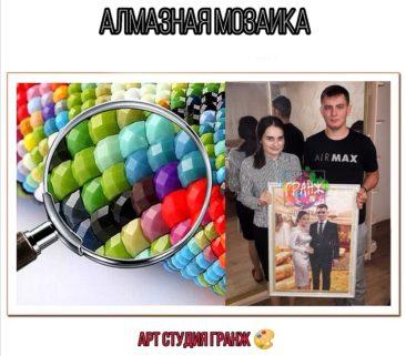 Алмазная мозаика по фото заказать в Донецке